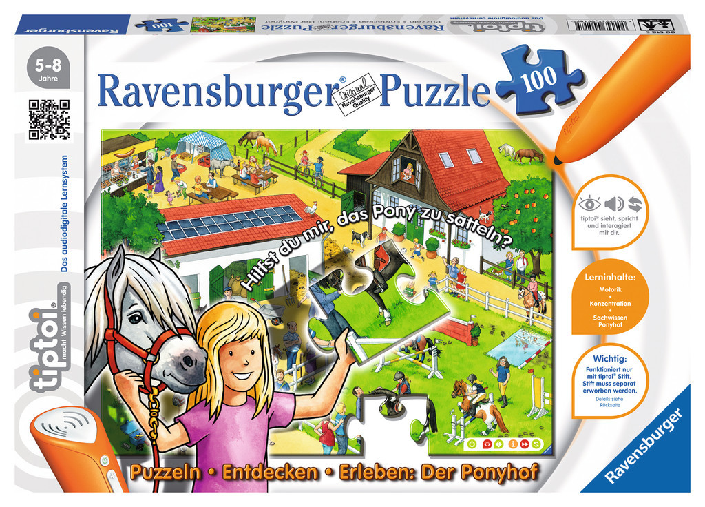 Ravensburger 00518 - Puzzle Puzzeln,