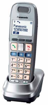 Panasonic Telefon-Mobilteil KX-TGA659EXM (Graphit)