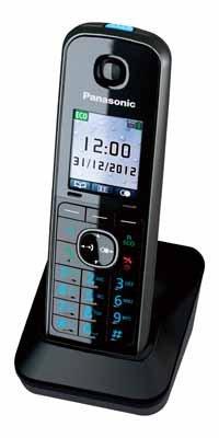 Panasonic Telefon-Mobilteil KX-TGA815EXB (Schwarz)