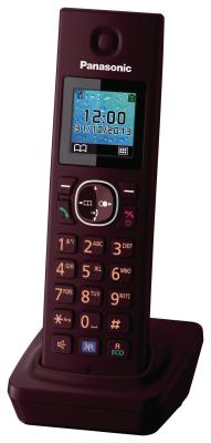 Panasonic Telefon-Mobilteil KX-TGA785EXR (Weinrot)