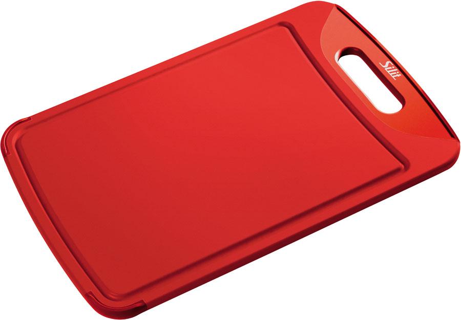 Silit Schneidebrett 38x25cm Rot