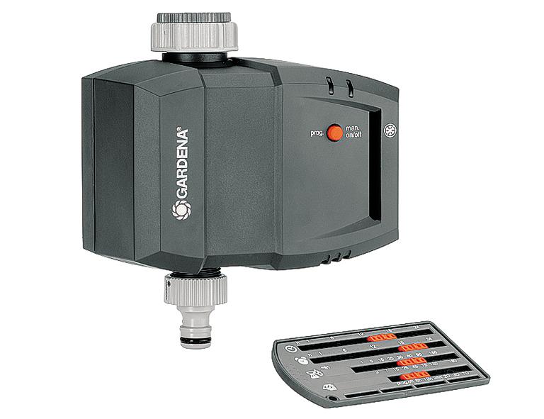 GARDENA Bewässerungsuhr T1030card 26,5/33,3mm-Hanhgewinde